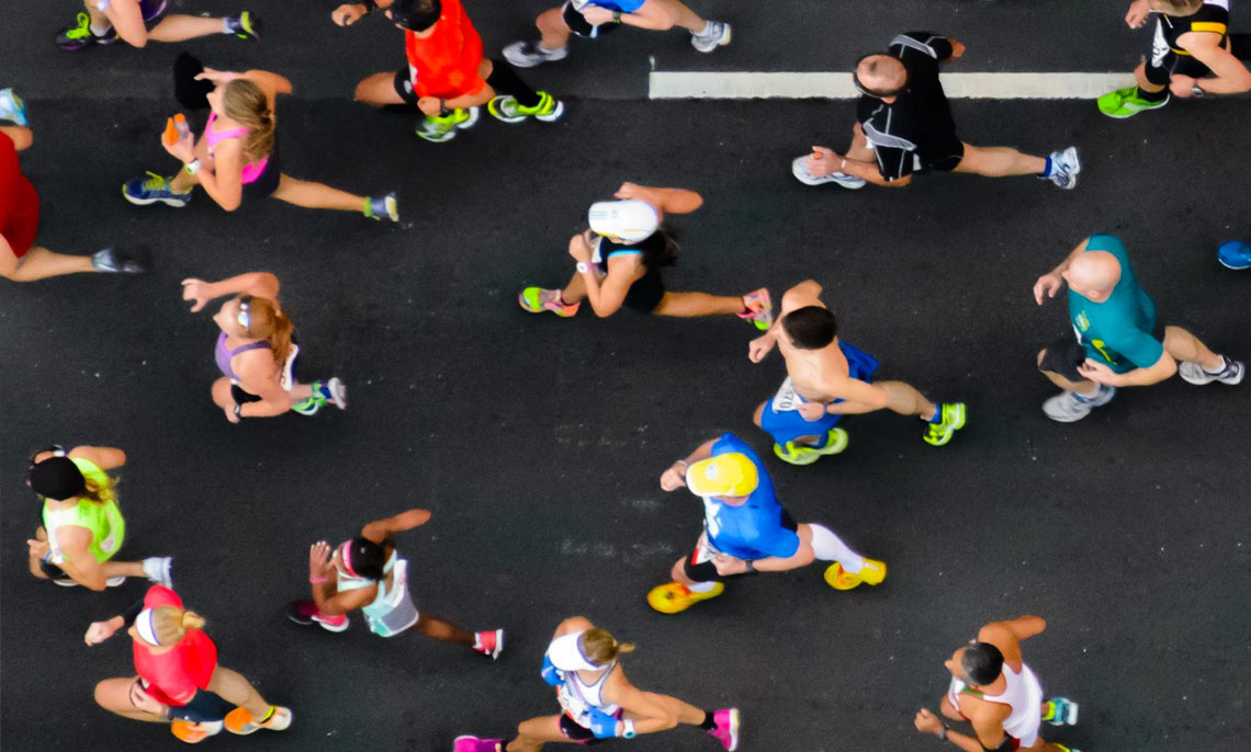 Courir un marathon en 4h