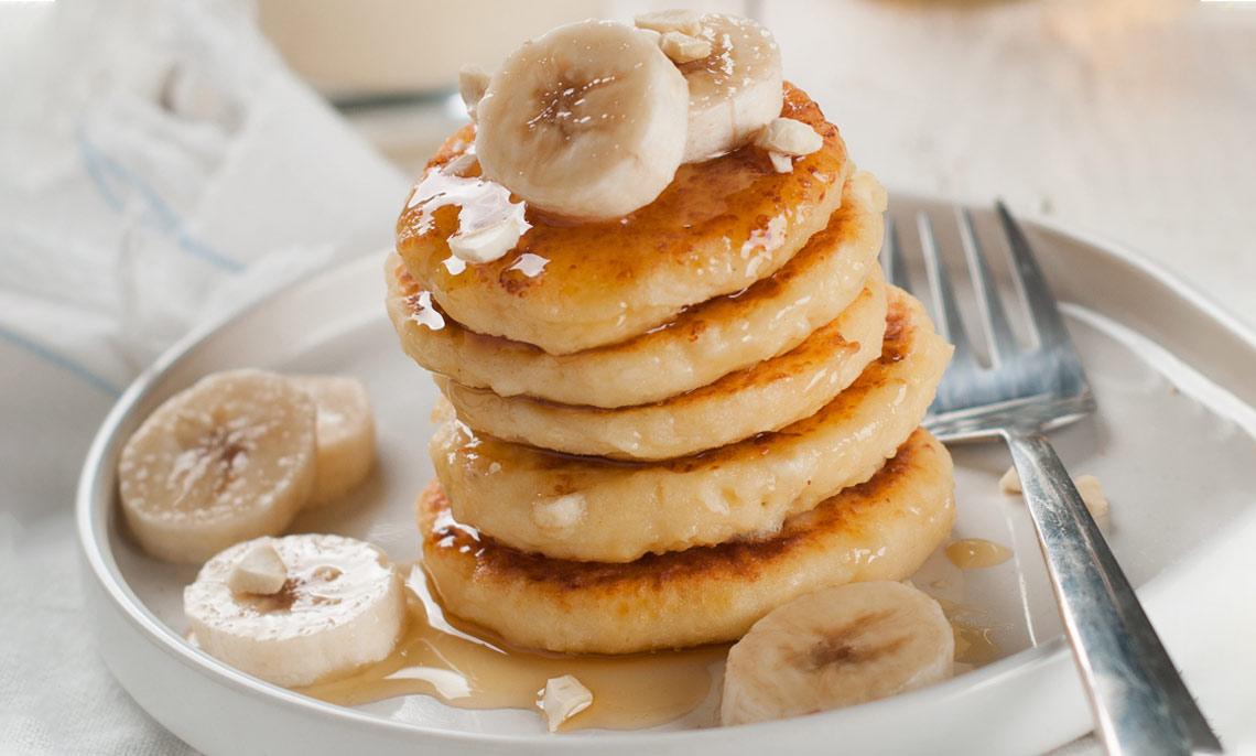 Recette mielTonia - banana pancake au miel